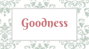 Fruitful Disciplines_ Goodness