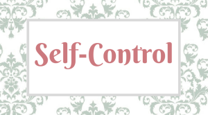 Fruitful Disciplines_ Self-Control