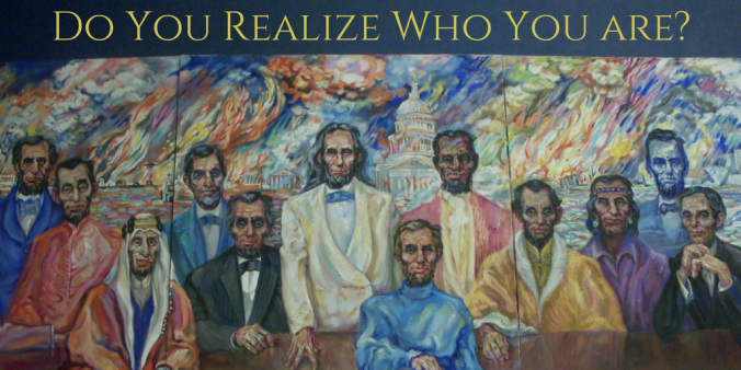 Do You Realize Who You are?