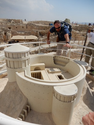 Scale Model of Herodium