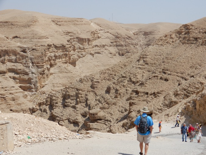 View from the top of the Wadi